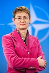 Official portrait of NATO Spokeswoman, Oana Lungescu